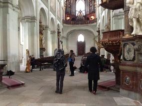 Kladruby Monastery - inspirational trip, November 2014
